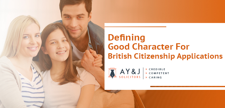 Defining Good Character for British Citizenship Applications