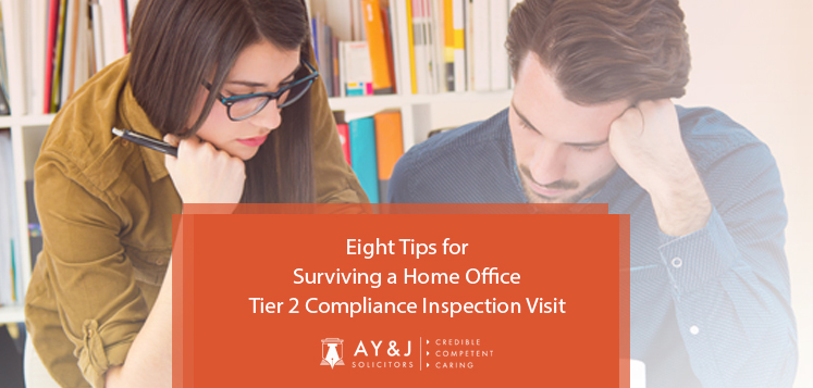 Eight Tips for Surviving a Home Office Tier 2 Compliance Inspection Visit