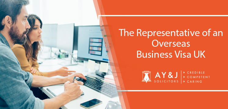 UK Sole Representative Visa Application