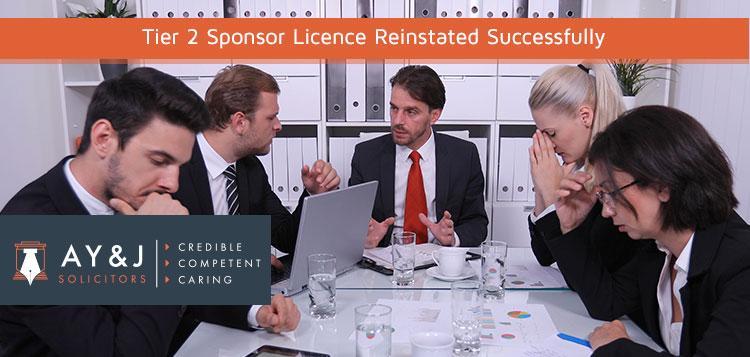 tier 2 sponsor licence