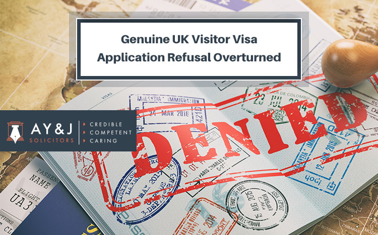 Genuine UK Visitor Visa Application Refusal Overturned
