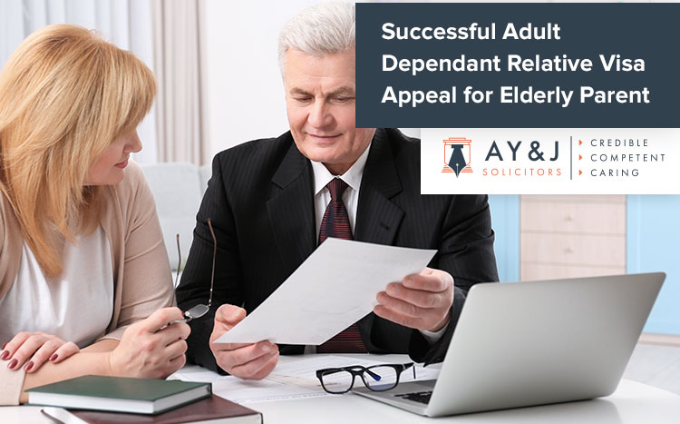 Adult Dependant Relative Appeal