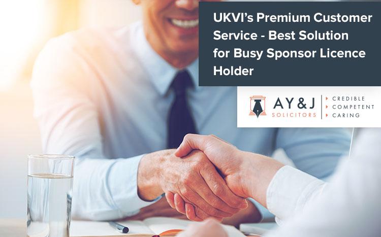 Premium Service for Sponsor Licence