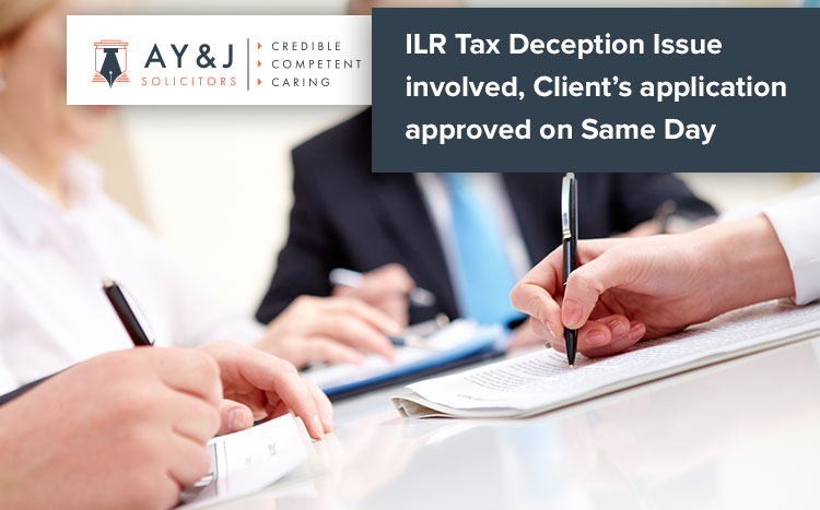 Tax Deception Issue ILR PEO