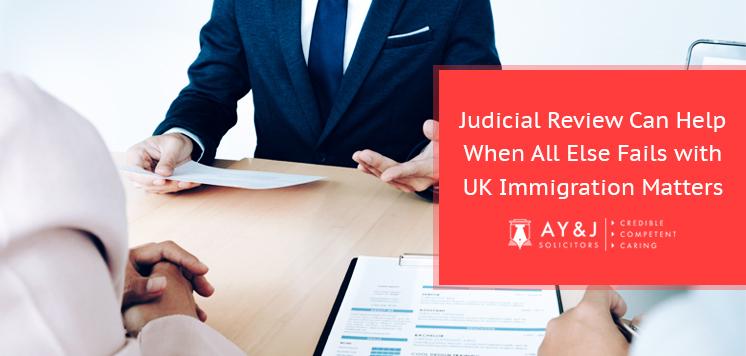 Judicial Review against UKVI