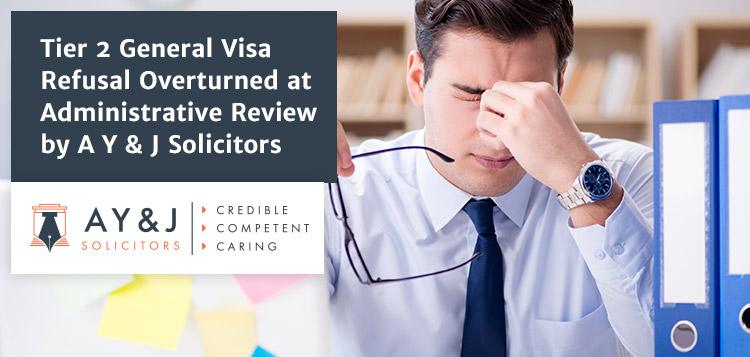 tier 2 General Visa