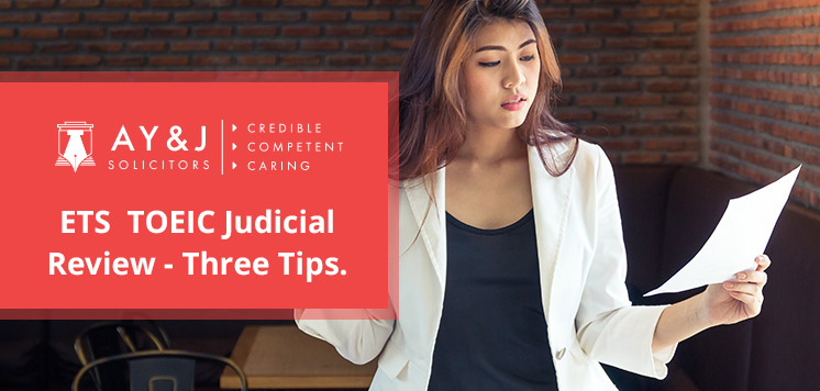 Three Tips for Applying with Judicial Review