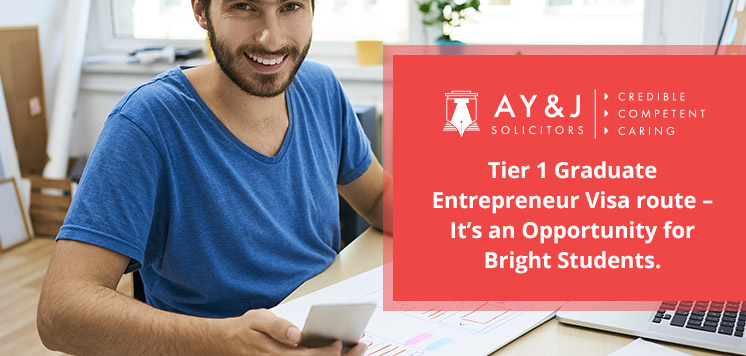 Opportunity for Tier 1 Graduate Entrepreneur Visa