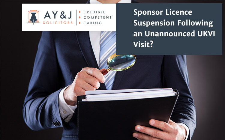 Dealing with suspension : revocation of your Tier 2 sponsor licence