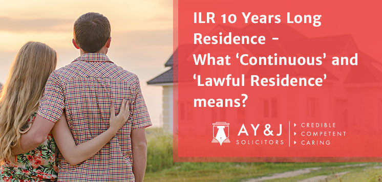 Apply ILR After 10 Years Residence in UK