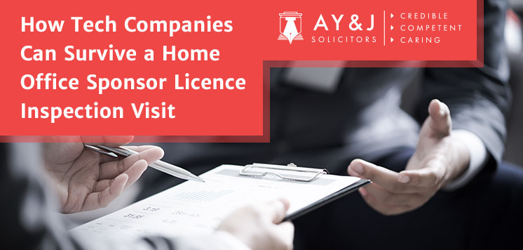 How UK IT Companies Can Survive a Home Office Sponsor Licence Inspection Visit