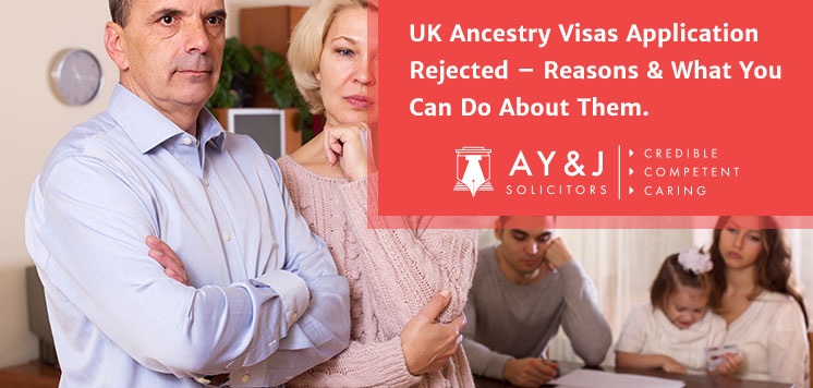 Reasons of UK Ancestry Visas Application