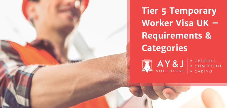 Tier 5 Temporary Worker Visa UK – Requirements & Categories Explained