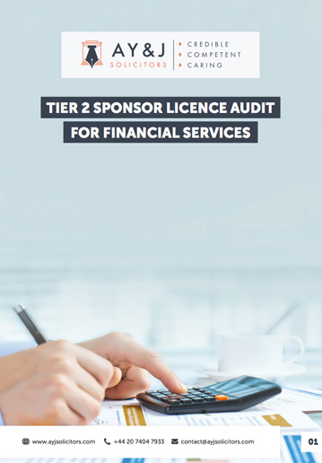 Sponsor Licence Audit: Financial Services