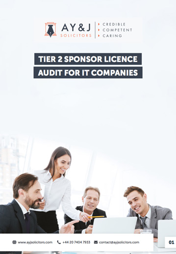 Sponsor Licence Audit: IT Company