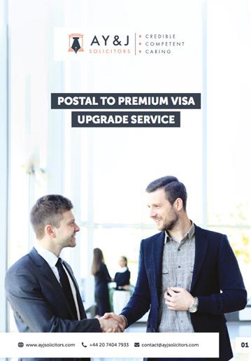 Premium Visa Upgrade Service