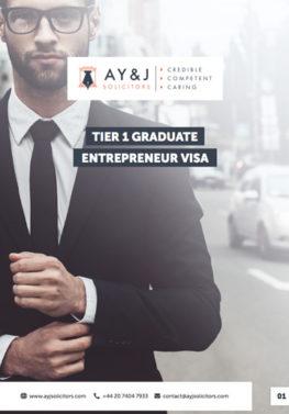 Tier 1 (Graduate Entrepreneur) Visa