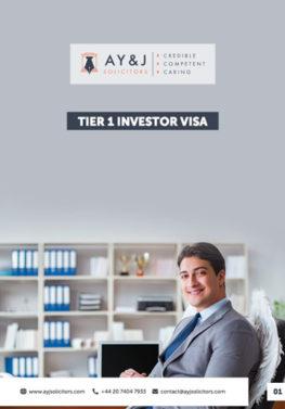 Tier 1 (Investor) Visa