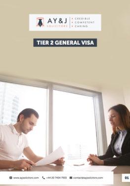 Tier 2 General and Tier 2 ICT Visas