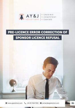 Administrative Review: Sponsor Licence Refusal