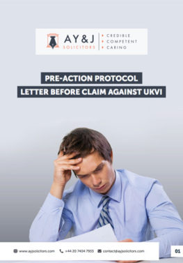 Letter Before Claim Judicial Review