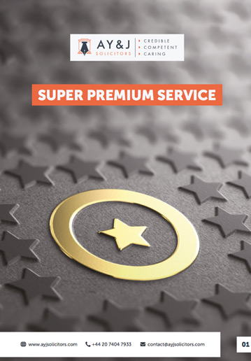 UK Super Premium Visa Service Brochure