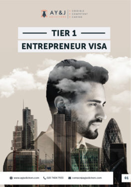 Tier 1 Entrepreneur Visa Brochure