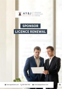 Sponsor Licence Renewal Brochure