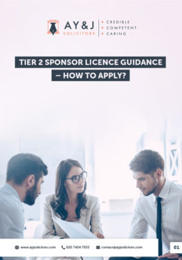 How to Apply a Tier 2 Sponsor Licence Brochure