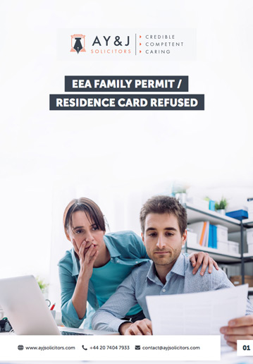 EEA Residence Card Refusal