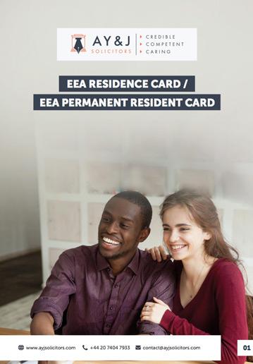 EEA Residence Card