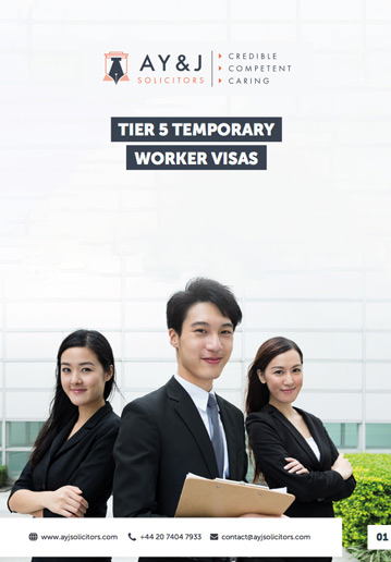 Tier 5 (Temporary Worker) Visa