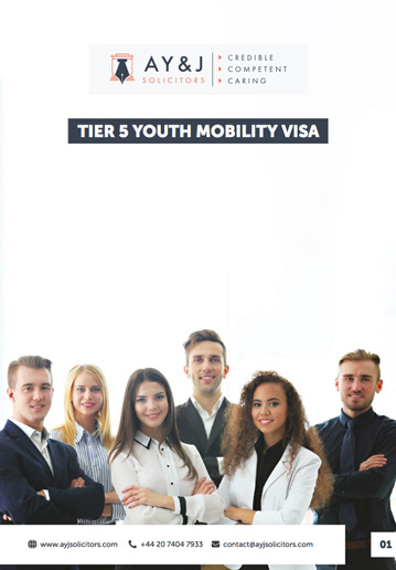 Tier 5 Youth Mobility Visa