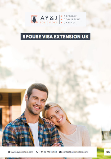 Spouse Visa Extension