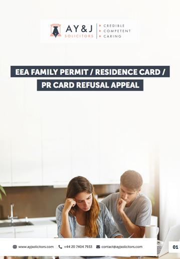 EEA Visa Appeal