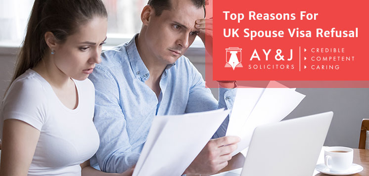 Reasons For UK Spouse Visa Refusal