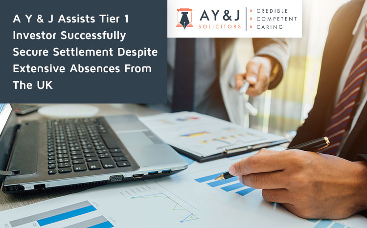 A Y & J Assists Tier 1 Investor Successfully Secure Settlement Despite Extensive Absences From The UK