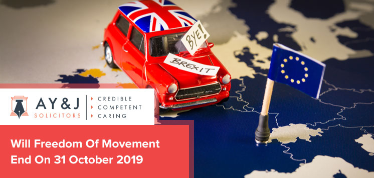 Will Freedom Of Movement End On 31 October 2019?