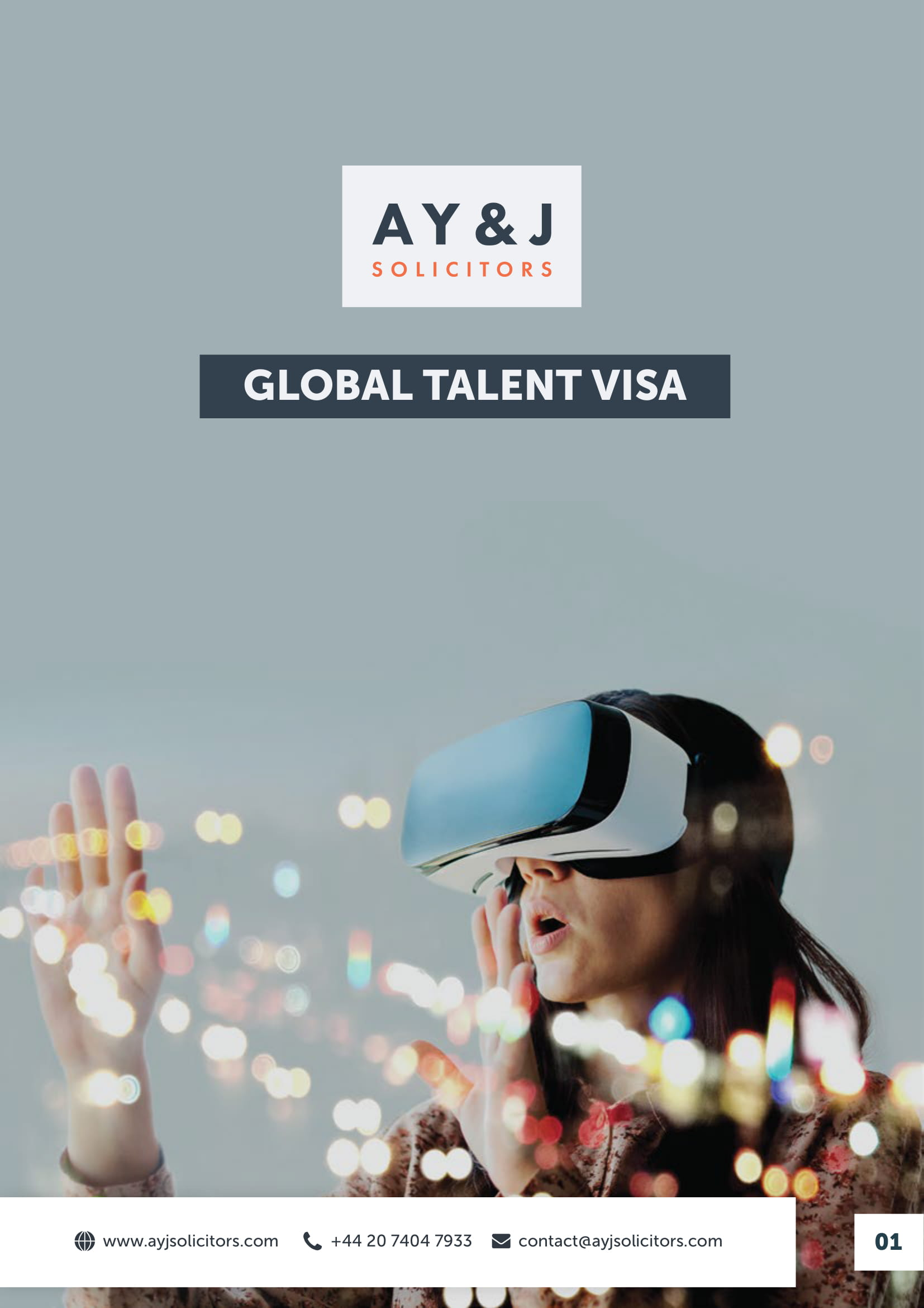 Global Talent Visa Brochure