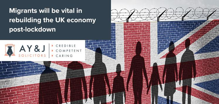 Migrants will be vital in rebuilding the UK economy post-lockdown