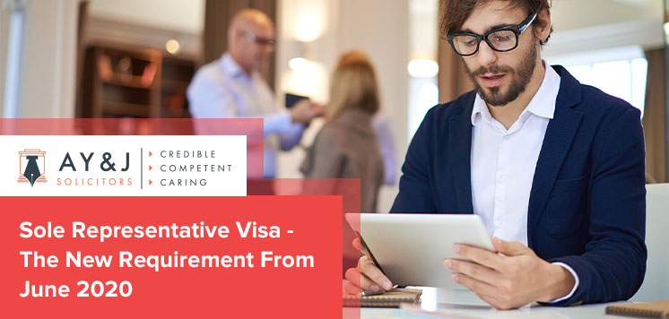 Sole Representative Visa – The New Requirement From June 2020