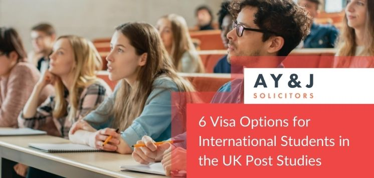 Six UK visa options for international students in the UK Post-studies