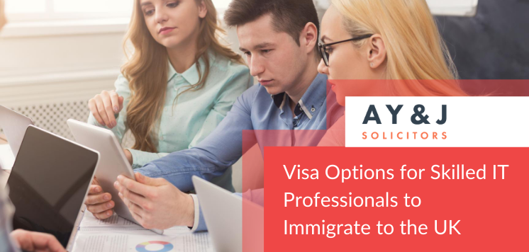 Best UK Visa Options for skilled IT Professionals to immigrate to the UK
