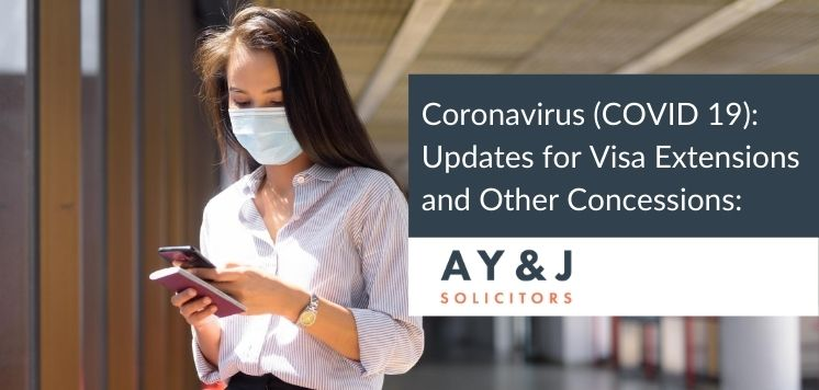 Coronavirus Pandemic UK Extends Visa