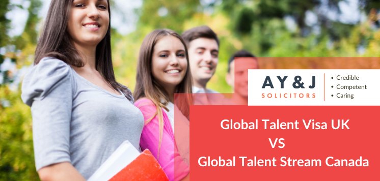 Global Talent Visa UK Vs. Global Talent Stream Canada