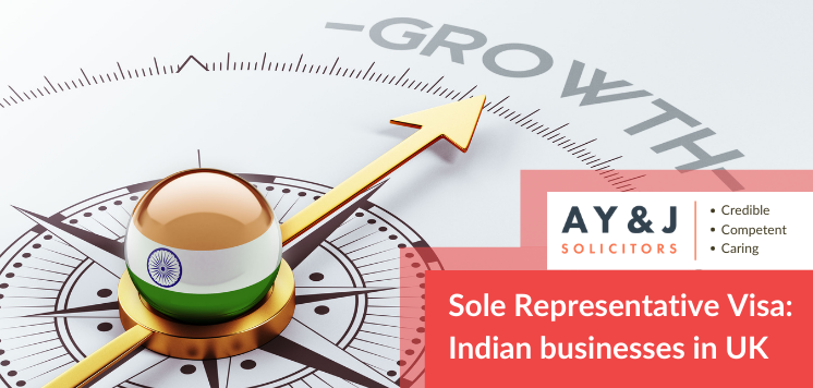Sole Representative Visa: Indian businesses in the UK