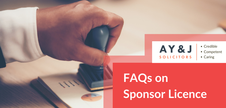 FAQ sponsor licence UK immigration