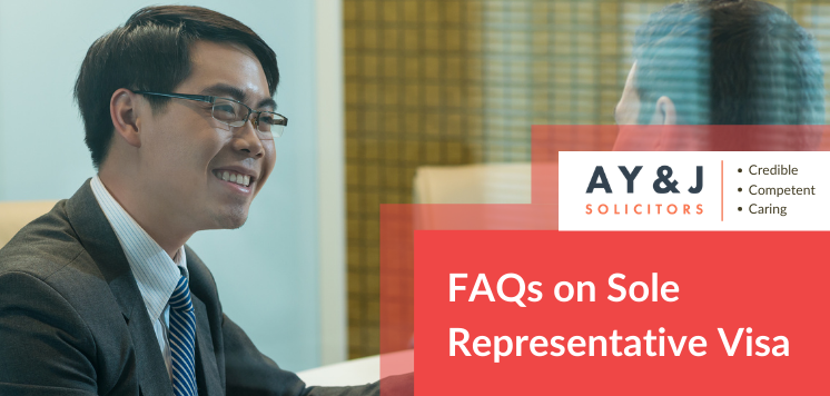FAQ on Sole Representative Visa