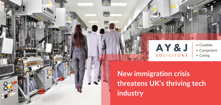 New immigration crisis threatens UK's thriving tech industry