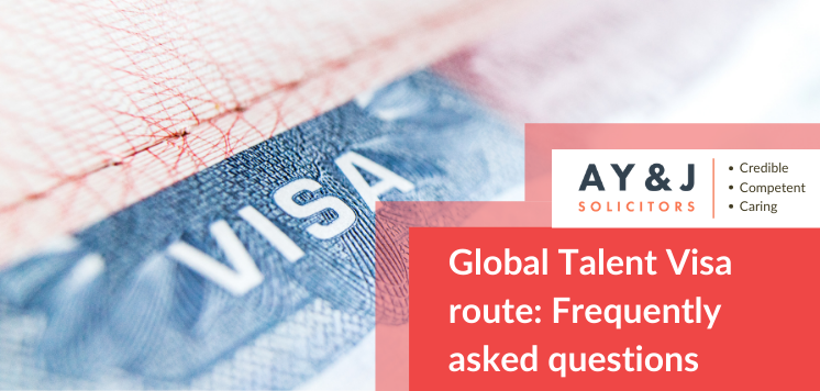 Global Talent Visa Route: Frequently Asked Questions